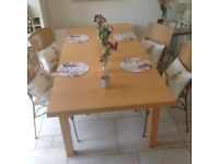 Marks and Spencer extending dining table