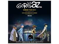 Gorillaz Concert Tickets