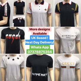 Gucci Tshirts Fendi T shirt Givenchy T-Shirt Armani Designer clothing Cheap London UK essex surrey