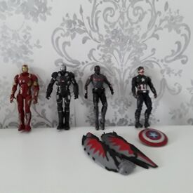 MARVEL Super Hero Die Cast Figures ***LIKE NEW*** Cost £80