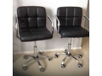 Office chairs or breakfast bar stools