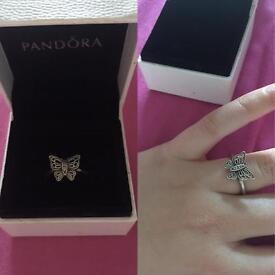 Butterfly Pandora Ring