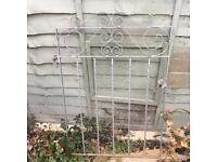 Victorian Edwardian style Metal garden gate