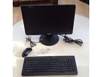 Dell IN2010N 20inch Flat Panel Monitor With Keyboard And Mouse