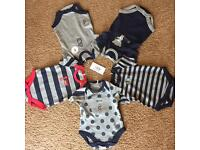 (Brand new) The Essential One 0-3 months babygrows
