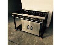 6 Burner Commercial Gas Cooker
