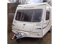 2009 BAILEY MONACH Caravan 2 berth with Moto-mover and FREE awning. Full service history. 1 owner