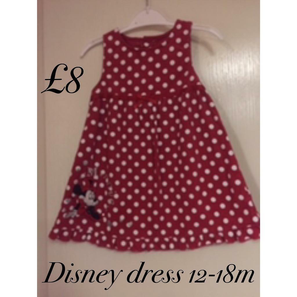 3c3ba3baad8f Disney dress 12-18m