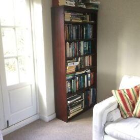 Veneered MDF Shelved Book Cabinet