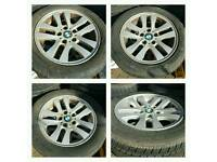 BMW alloys wheels ×4