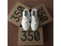 ea2b024811dc Yeezy Boost 350 Triple White (Cream) Size 10   11 Deadstock (Unworn)