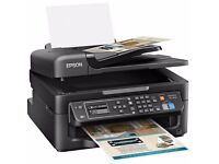 Epson WF-2630 Four-in-One for the Small Printer with WI-FI and AirPrint (Print/Scan/Copy/Fax)
