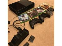 Xbox one 500GB with Fifa 18, GTA V, Star Wars Batllefront 1 & 2 + more
