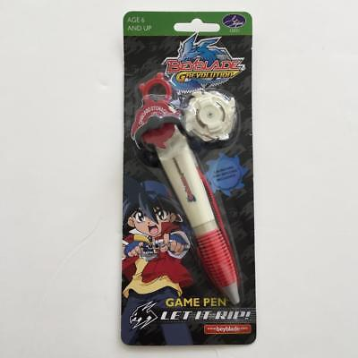 Beyblade G Revolution Game Ball Point Pen Launcher & Ripcord