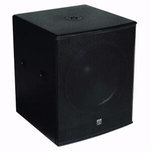 Pick up only Price - Gemini ZRX-S15P 15-inch Subwoofer with D-Class Amp, 1,200 Watts Powered Front Firing DJ Subwoofer