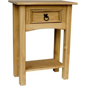 Woodern sideboard table with draw