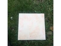 6 ceramic floor tiles