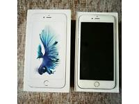 iPhone 6S Plus, 64GB, Factory Unlocked, Silver, As New!