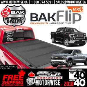 2019 GMC Sierra & Chevrolet Silverado BAKFlip MX4 5.8 ft Tonneau Cover | Free Shipping Canada Wide | BRAND NEW