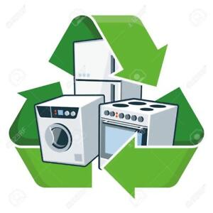 BH Recycling -24/7 FREE Drop off scrap Appliance  (64ave & 40st SE)