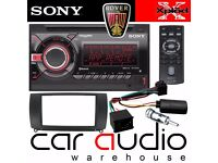Sony WX-GT90BT Double Din Car Stereo Headunit Radio FM AM CD AUX USB Bluetooth
