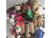 Large bundle of toys Including Wow Wee robotic Lion