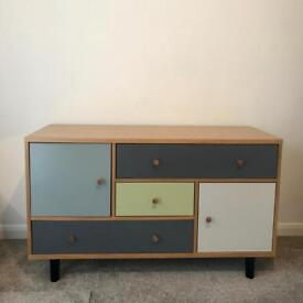 Retro multi-drawer sideboard / drawers