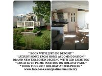 North Wales - PLATINUM 3 BED HOLIDAY HOME FOR HIRE 3, 4 OR 7+ nights available.