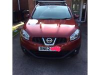 Nissan Qashqai N-Tec+. 2012/62 in excellent all round condition.