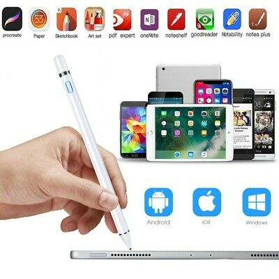 Digital Active Stylus Pen Pencil For Apple iPad Pro Touchscreen Ultra Fine Tip