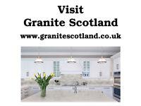 Granite, Quartz & Silestone Kitchen Worktops. Fitting throughout Glasgow and central Scotland.