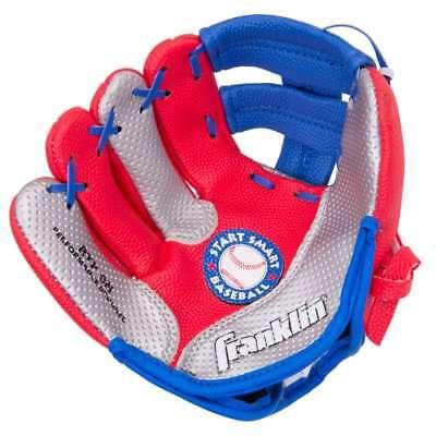 - Franklin Sports Air Tech Foam Baseball Glove and Ball Set - Left Thrower