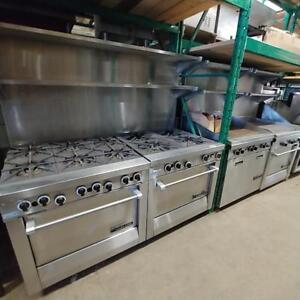 Garland Front Manifold Cooking Equipment - Demo Units