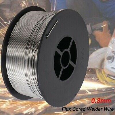 0.8mm0.03 Stainless Steel Gasless Flux-cored Mig Welding Wire 4.6kg10-lb Roll