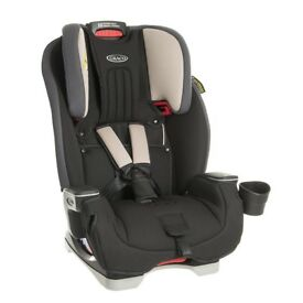 NEW Graco Milestone All-in-One Car Seat, Aluminium free delivery