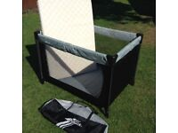 Hauck travel cot and separate mattress