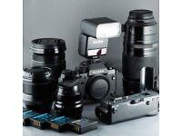 Complete Fuji Kit - X-T2, 16-55 f/2.8, 50-140 f/2.8, 56 f/1.2, 23 f/2, flash, grip, boxed