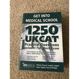 New Get into Medical School 1250 UKCAT Practice Questions