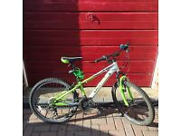 Boys Giant Mountain Bike with Front Suspension