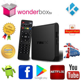 T95X 2Gb RAM 16Gb ROM 64 bit Quad Core 4K Kodi 17.6 Krypton Android 6 Marshmallow Smart TV Box,