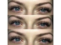 Eyelash extensions !only 30£ full set!