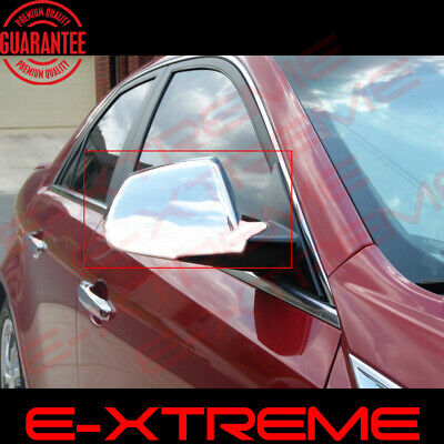Chrome Mirror Cover Full Cap For Cadillac CTS 2008 2009 2010 2011 2012 2013 2014