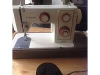 Singer sewing machine, serial no. )front panel) 5107, Date 1960-1970 approximately, £35.00