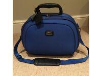 Ladies blue vanity bag