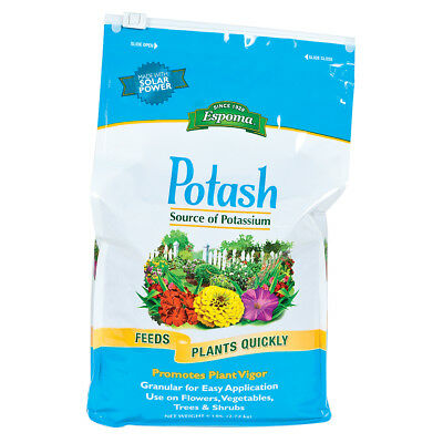 Espoma Potash 6 Lb Natural Organic Great Source Of Potassium  Plant Vigor 0 0 60