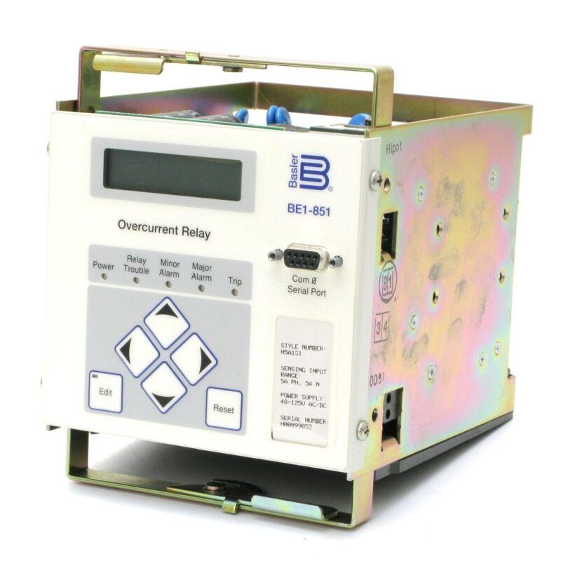 Basler BE1-851 Digital Overcurrent Protection Relay