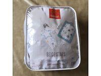 Baroo Large Nursing Pillow (Beige Stars)