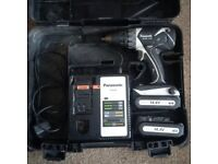 Panasonic cordless drill 14,4v li-ion