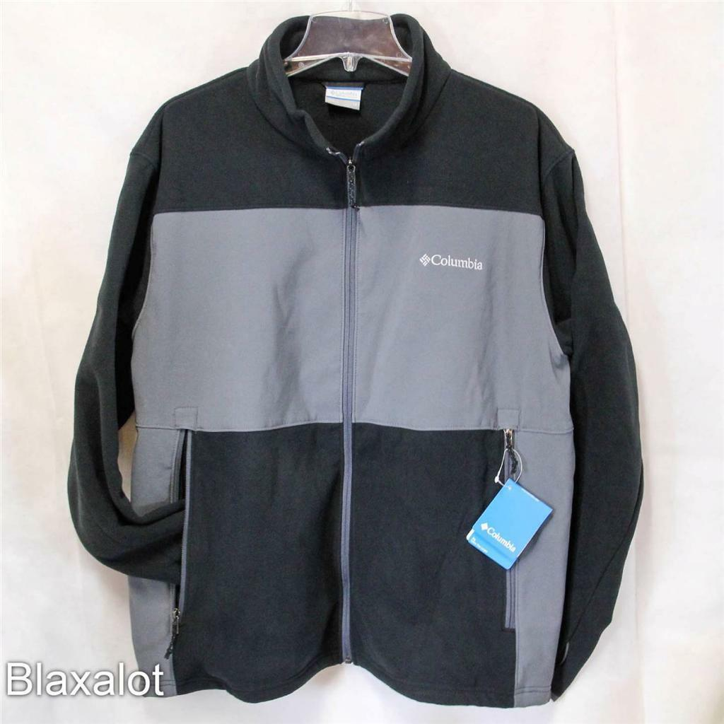 new-columbia-breaking-trail-hybrid-softshell-fleece-jacket-mens-1x-2x-3x