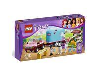 BRAND NEW Lego Friends Horse Trailer Set 3186